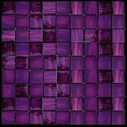 Nova Arte 1x1 Lavender Magenta Deco Mix Of Gloss And